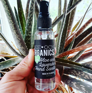 Natural Aloe and Lavender Hand Sanitizer