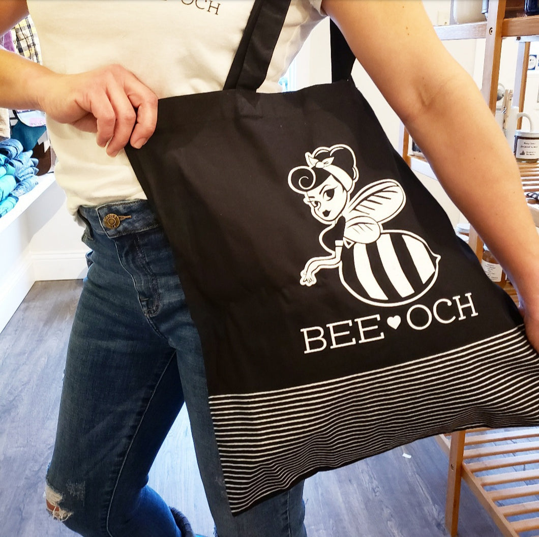 BEE-OCH Reusable Tote Bag