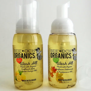 Organic Wash All 3-in-1 Shampoo, Body Wash, Hand Soap