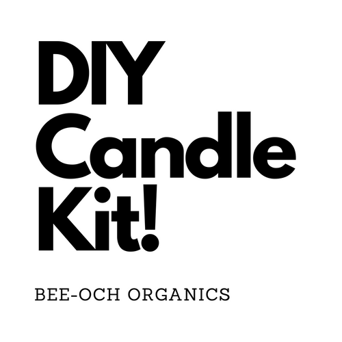 DIY Organic Beeswax Candle Kit