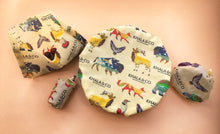 Load image into Gallery viewer, NEW! Beeswax Wraps - 4 Pack Variety (Colorado Creatures Print)