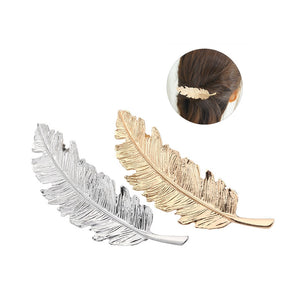Feathery hairpin