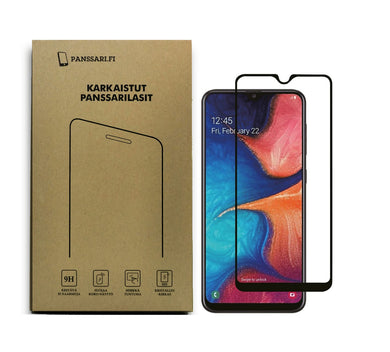 Panssarilasi Galaxy A20e puhelimeen