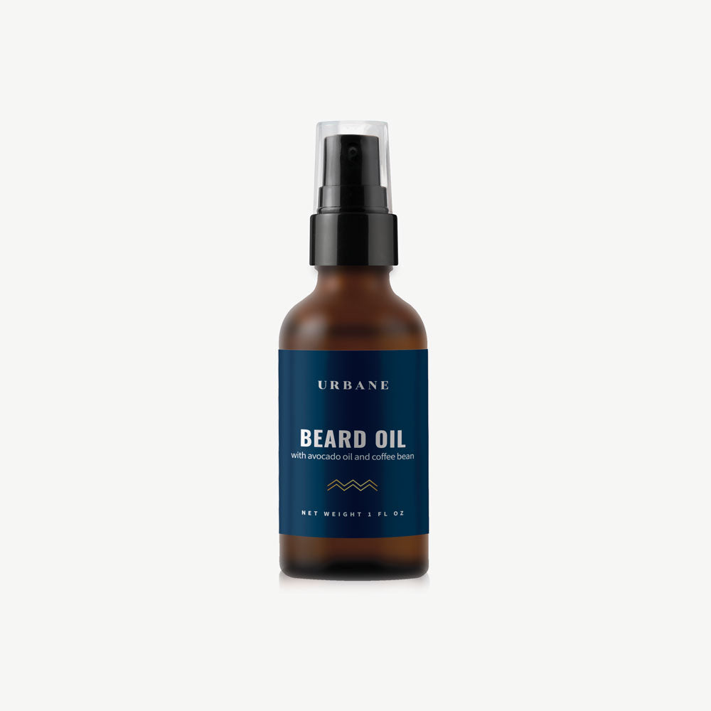 Beard Oil with Avocado and Coffee Bean