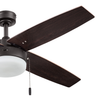 "52"" Memphis, Bronze, Pull Chain, Ceiling Fan"