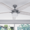 "52"" Dorsey IO, Pewter, Remote Control, Smart Ceiling Fan"