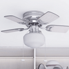 "28"" Hero, Brushed Nickel, Pull Chain, Ceiling Fan"