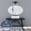 Fairendale, Vanity Light, Two Light, Matte Black