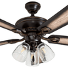 "52"" Glenmont, Oil Rubbed Bronze, Pull Chain, Ceiling Fan"