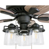 "52"" Briarcrest, Bronze, Pull Chain, Ceiling Fan"