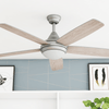 "52"" Ashby, Pewter, Remote Control, Ceiling Fan"