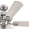 "44"" Northfield, Brushed Nickel, Pull Chain, Ceiling Fan"