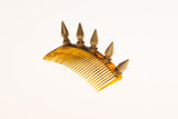 Gold Spike Hair Comb- Hair Accessory