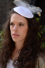 Lace Bridal Hat