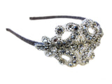 Crystal Applique Bridal / Evening Headband