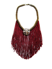 Swarovski Crystal Fringe Necklace