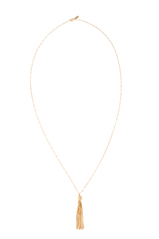 18K Tassel Necklace