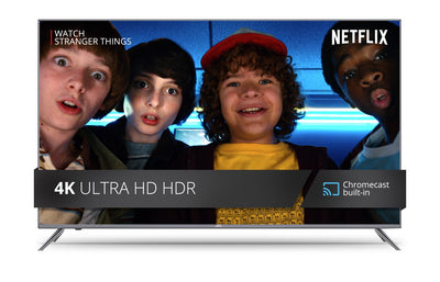 4K Ultra HD HDR Smart TV with built-in Cast - 65""