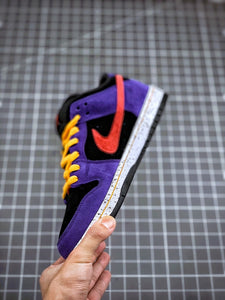Nike SB Dunk Low Pro 'ACG Terra' Shoes - Black / Sunburst - Varsity Purple - Taxi - Just_4Kicks
