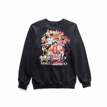 Load image into Gallery viewer, Black Chaos Embroided Sweater - Just_4Kicks