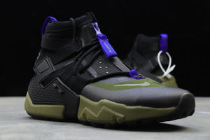 "Nike Air Huarache Gripp QS ""Black Olive"" - Just_4Kicks"