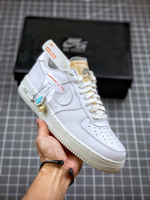 Air Force 1 07 LX White Onyx Bling LF