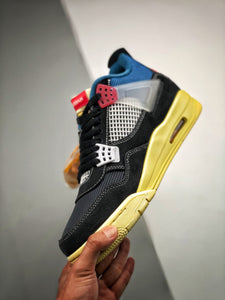"Air Jordan 4 x UNION LA ""Off Noir"""