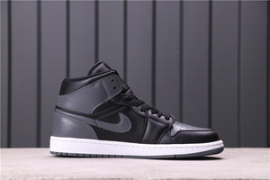 Air Jordan 1 MidBlack, Dark Grey & White