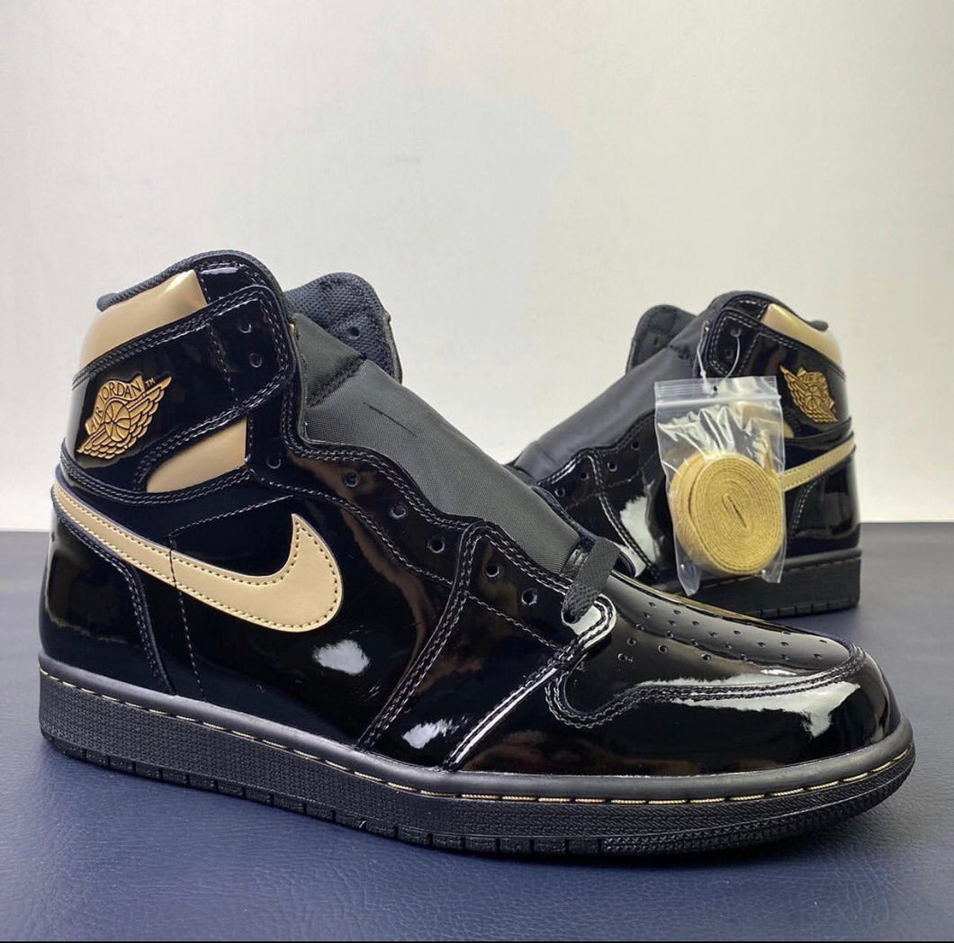 "Air Jordan 1 High OG ""Black Gold"""