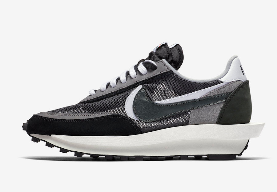 "Sacai x Nike LDWaffle  ""Black/Anthracite-White-Gunsmoke."" - Just_4Kicks"