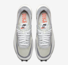 "Load image into Gallery viewer, Sacai x Nike LDWaffle ""Summit White/White-Wolf Grey-Black"" - Just_4Kicks"