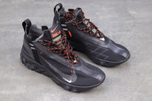 이미지를 갤러리 뷰어에 로드 , Nike React Runner Mid WR ISPA Black - Just_4Kicks
