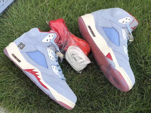 "Trophy Room x Air Jordan 5 ""Ice Blue"" - Just_4Kicks"