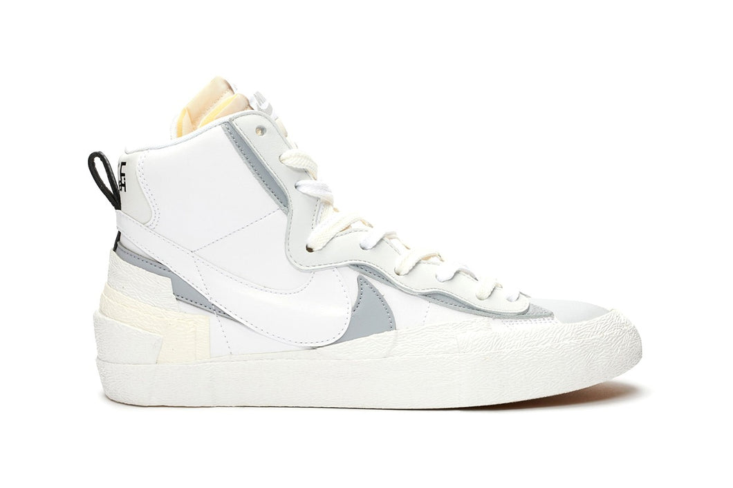 "Sacai x Nike Blazer Mid ""White/Wolf Grey."" - Just_4Kicks"