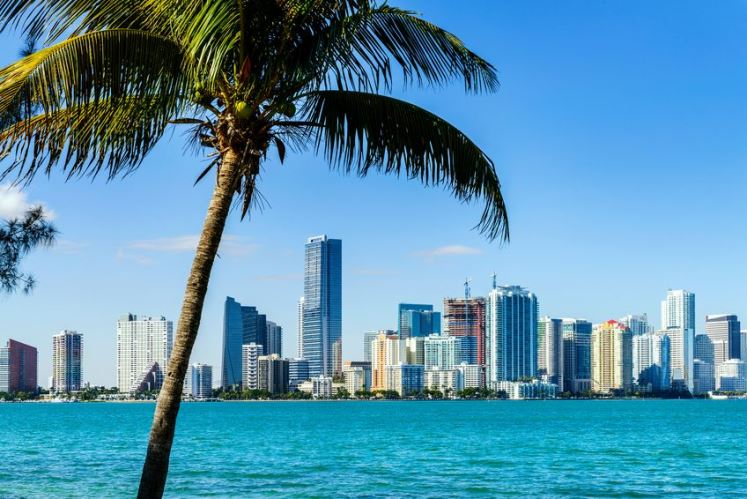 Miami - Florida ranks second for consumption