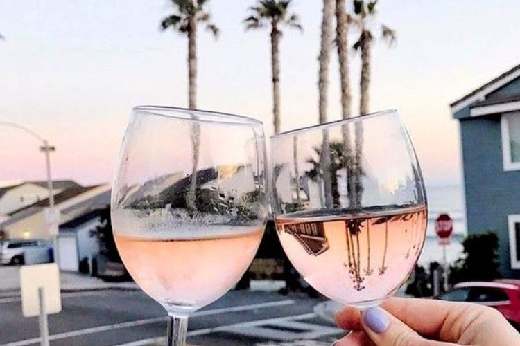 California - rosé wine not had the best reputation