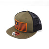 National 1.0 Snapback (Olive/Black W- Orange/Black Patch)