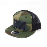 National 1.0 Snapback (Camo/Black W- Graphite/Black Patch)
