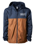 Wet Willy Windbreaker (Blue/Saddle)