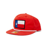 The Texas Drop Hat in Red