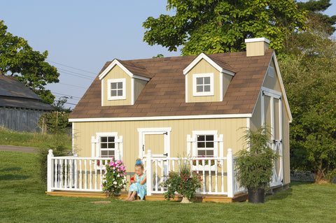 Cape Cod Playhouse by Little Cottage Company - Kids Playhouse World