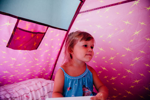 Secret Castle Bed Tent by Pacific Play Tents - Kids Playhouse World