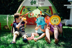 Jungle Safari Tent & Tunnel Combo by Pacific Play Tents