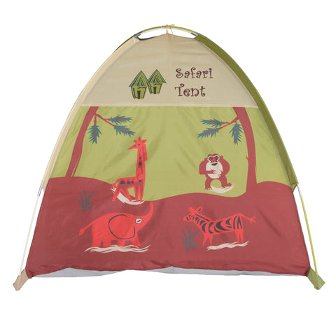 Jungle Safari Tent & Tunnel Combo by Pacific Play Tents - Kids Playhouse World