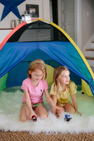 SUPER DUPER 4 KID PLAY TENT By Pacific Play Tents - Kids Playhouse World