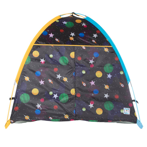 Galaxy Dome Tent w/ Glow In The Dark Stars by Pacific Play Tents - Kids Playhouse World