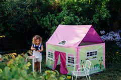 ... Cottage House Play Tent by Pacific Play Tents & Pacific Play Tents u2013 Kids Playhouse World