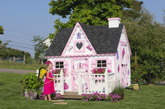 The Victorian Playhouse by Little Cottage Company