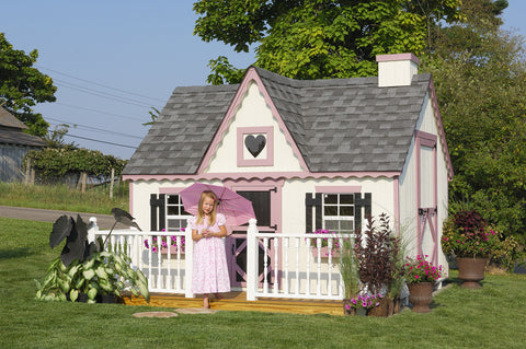 The Victorian Playhouse by Little Cottage Company - Kids Playhouse World