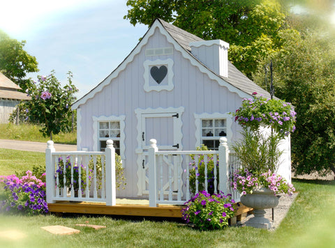 Gingerbread Cottage by Little Cottage Company - Kids Playhouse World